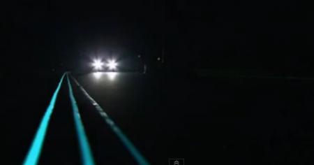 Glow in the Dark Roads