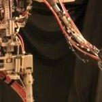 Robot Disney qui jongle avec un humain